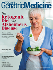 The Ketogenic Diet and Alzheimer's Disease - Today's Geriatric Medicine